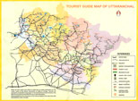Uttarkhand Map